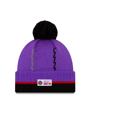 Raptors New Era Men's HWC Cuffed Pom Toque