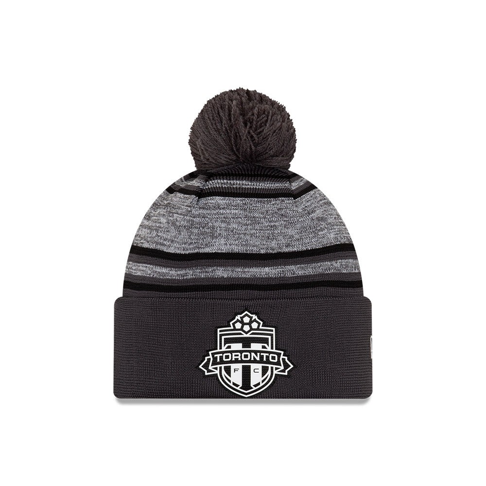 Toronto FC New Era Men's Takedown Cuffed Pom Toque