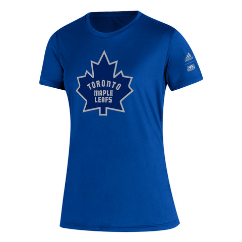 Maple Leafs Adidas Ladies Reverse Retro Tee