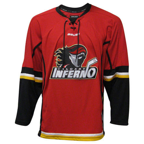 Calgary Inferno Bauer 900 Series Home Jersey