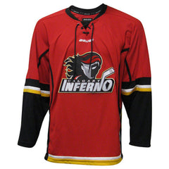 Calgary Inferno Bauer 900 Series Custom Home Jersey - shop.realsports