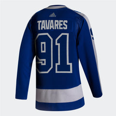 Maple Leafs Adidas Authentic Men's Reverse Retro Jersey - TAVARES