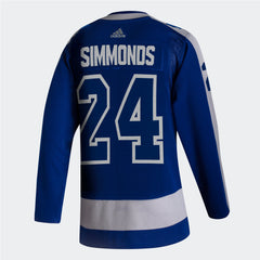 Maple Leafs Adidas Authentic Men's Reverse Retro Jersey - SIMMONDS