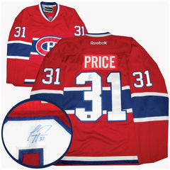 Price Signed Canadiens Jersey