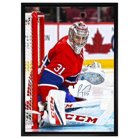 "Price Signed Canadiens ""Looking Right"" on Canvas Framed"