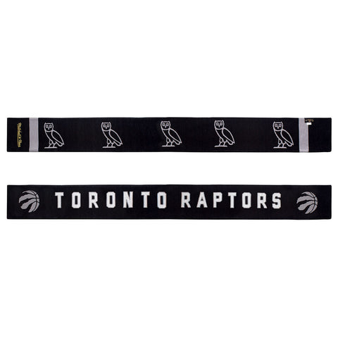 Toronto Raptors OVO Mitchell & Ness Jacquarded Knit Scarf