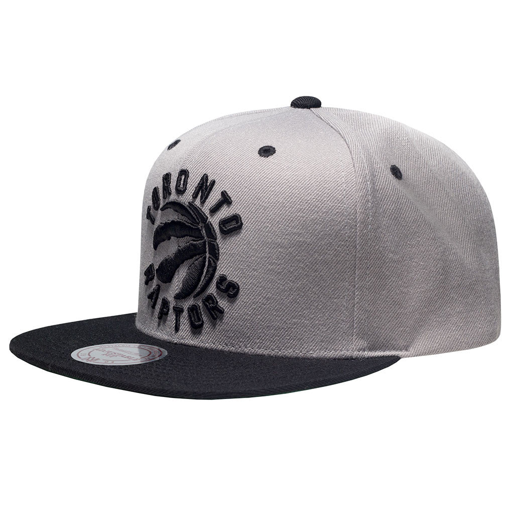 Toronto Raptors OVO Mitchell & Ness Men's Alternate Primary Log 2-Tone Snapback - shop.realsports - 2