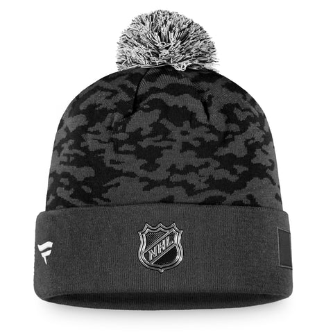 Maple Leafs Authentic Pro Military Knit Pom Toque