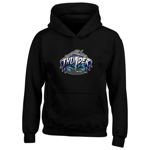 Brampton Thunder Youth Black Pullover Hoody