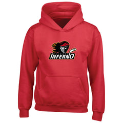 Calgary Inferno Youth Red Pullover Hoody - shop.realsports