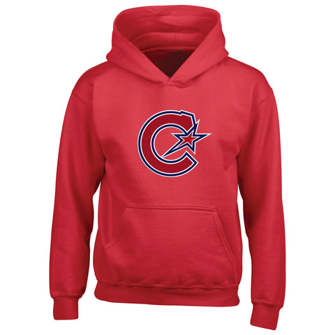 Montreal Les Canadiennes Youth Red Pullover Hoody