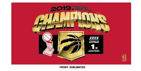 Raptors 2019 NBA Champs Locker Room Towel