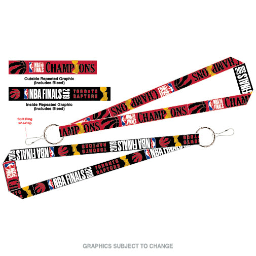 Raptors 2019 NBA Champs Lanyard