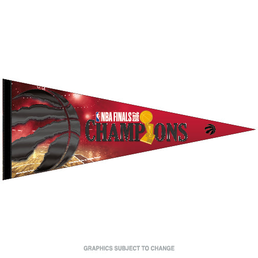 Raptors 2019 NBA Champs Pennant