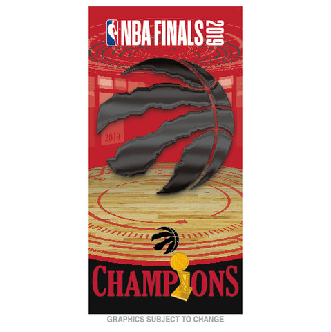 Raptors 2019 NBA Champs Beach Towel
