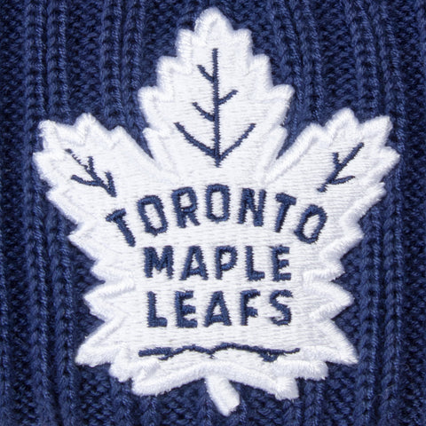 Maple Leafs Men's Authentic Rinkside Goalie Pom Toque