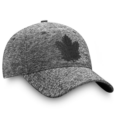Maple Leafs Men's Authentic Pro Black Ice Adjustable Hat
