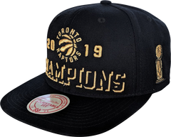 Raptors Mitchell & Ness 2019 NBA Champs Alternate Logo Snapback + Ring Bundle *PRE-ORDER*