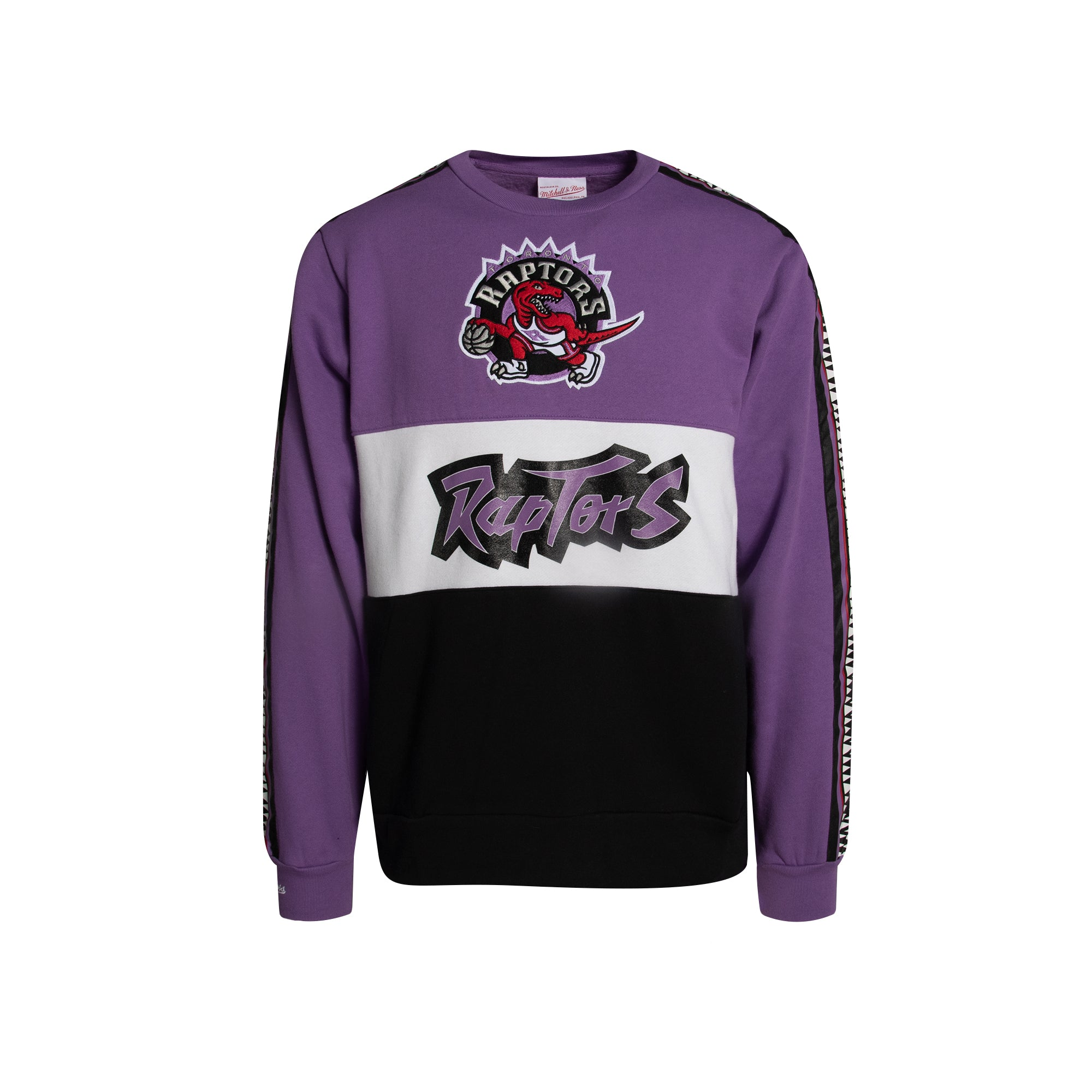 Raptors Mitchell & Ness Men's HWC Leading Score Fleece Crew Sweater