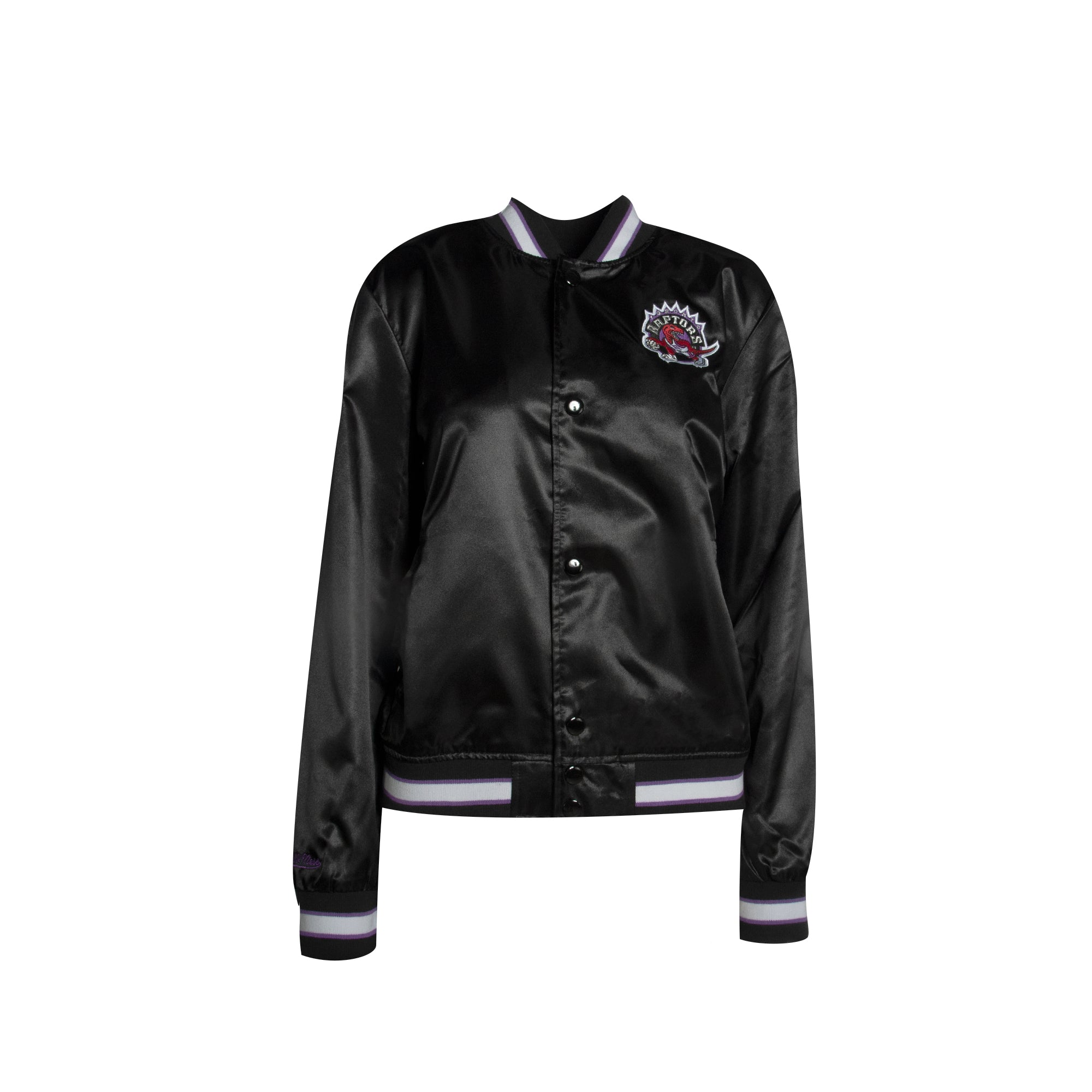 Raptors Mitchell & Ness Ladies HWC Lightweight Satin Jacket