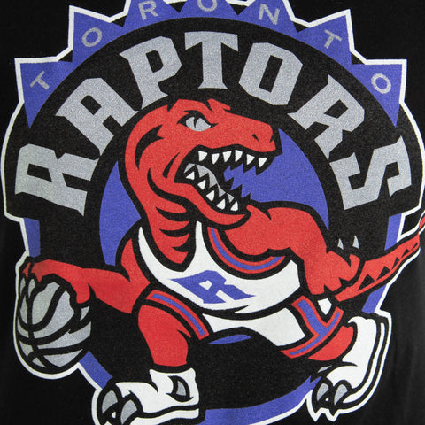 Raptors Mitchell & Ness Ladies HWC Pushed Logo Tee