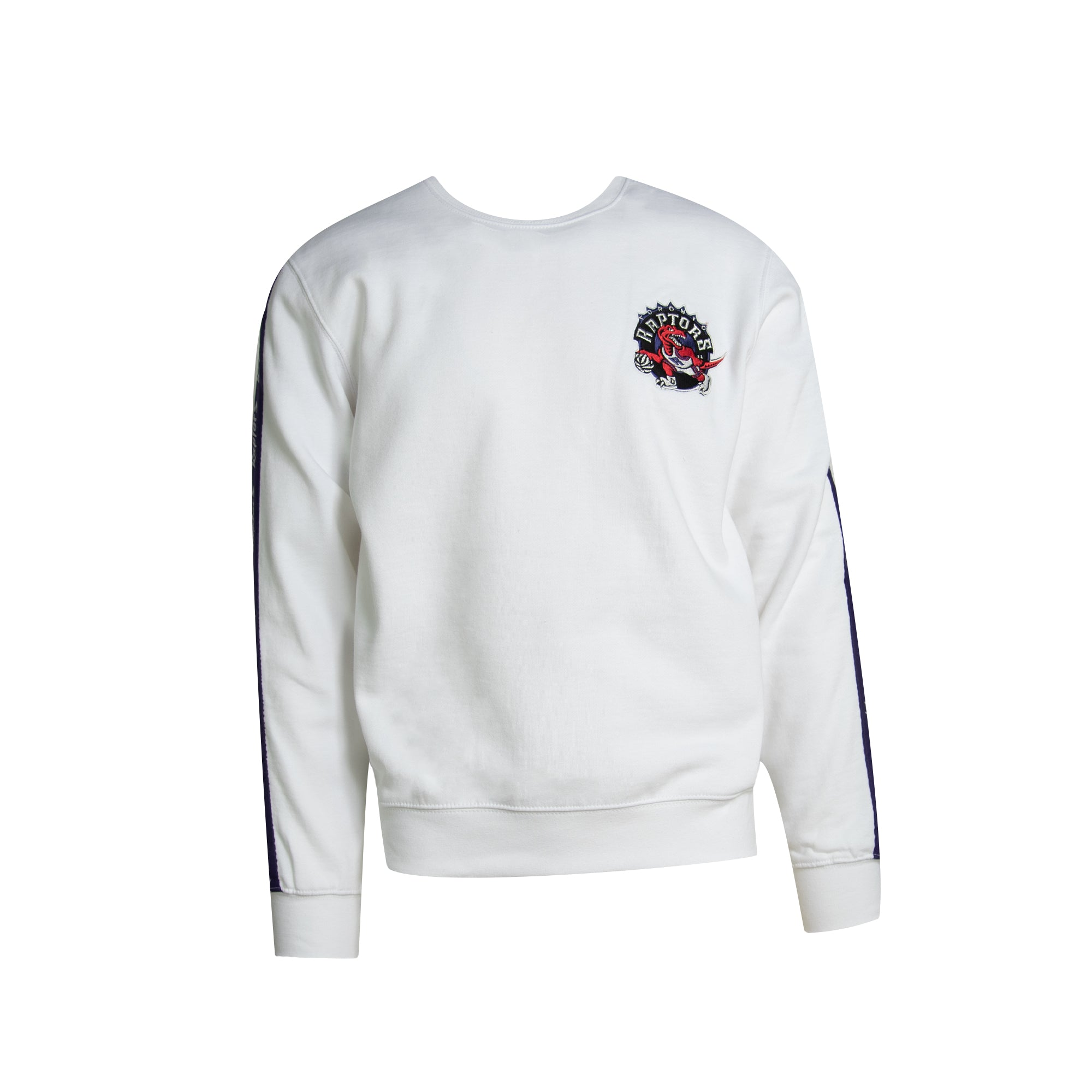 Raptors Mitchell & Ness Men's HWC Satin Arms Crew Sweater