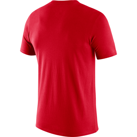 Raptors Nike Men's Authentic Practice Tee - Red
