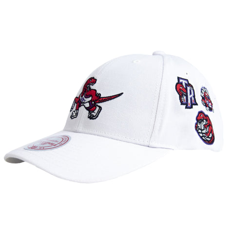 Raptors Mitchell & Ness All Patched Up Dad Hat
