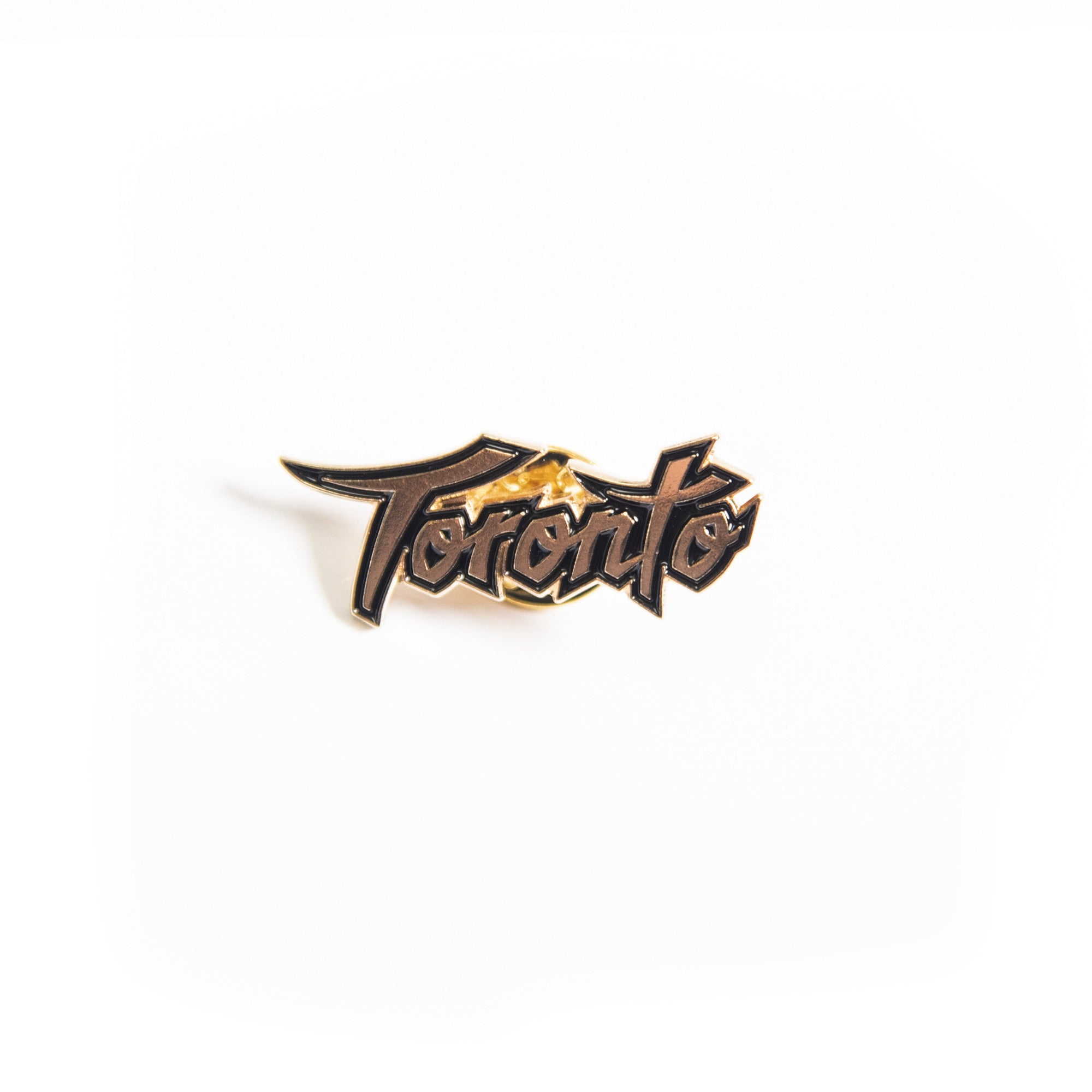 Raptors City Toronto Script Pin