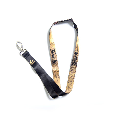 Raptors City Part Logo Sublimated Lanyard