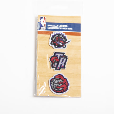 Raptors HWC Patch & Pin Set