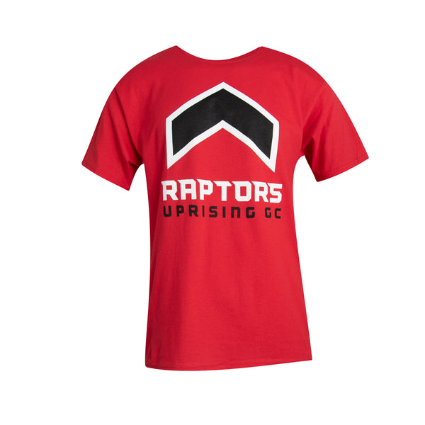 Raptors Uprising Champion Men's Logo Tee