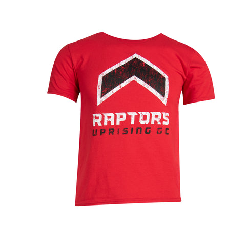 Raptors Uprising Champion Youth Logo Tee