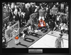 Raptors Kawhi Leonard Unsigned Game 7 Buzzer Beater vs Philadelphia 20x29 Canvas Framed