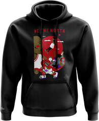 Raptors The North by Alexis Eke Mitchell & Ness Men's Dunking Sunset Hoody