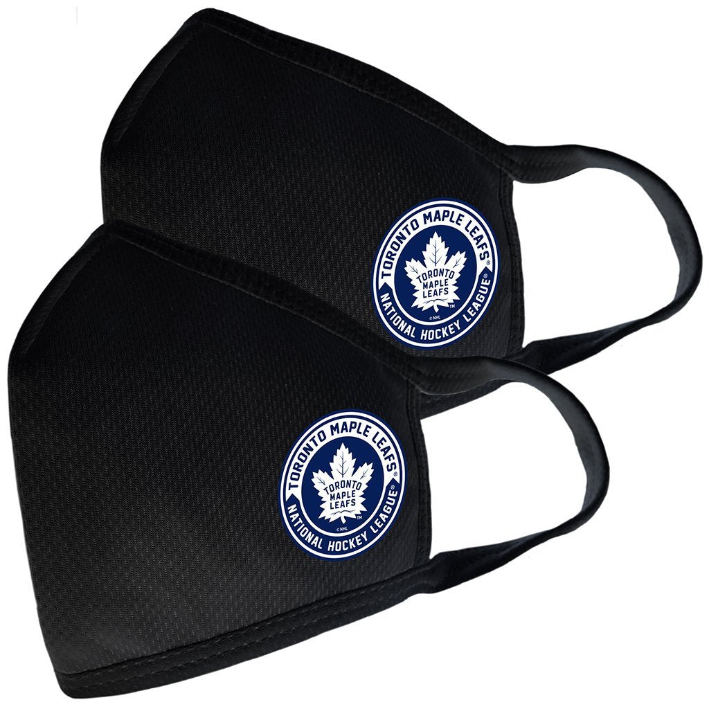 High Quality Adult Toronto Maple Leafs 2 Pack Face Covers with Filter