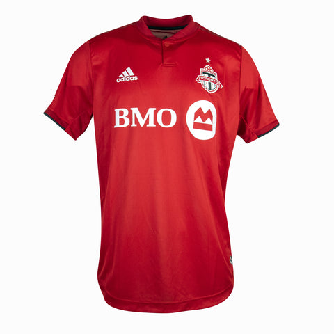 Toronto FC Adidas Men's Authentic Home Jersey - OSA Deal