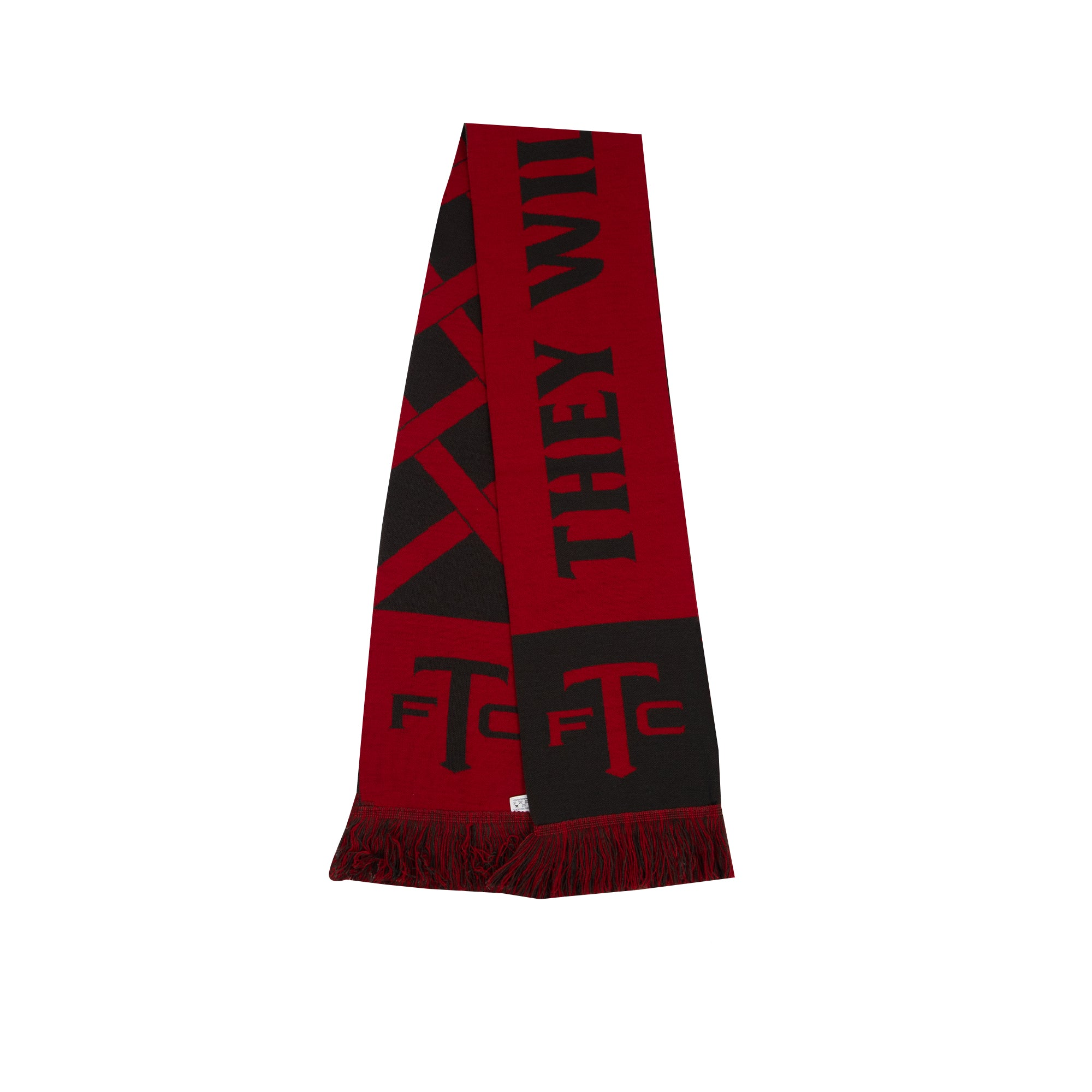 Toronto FC They Will See Red Stripe Scarf