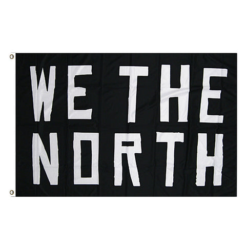 Raptors 3' x 5' 'We The North' Flag