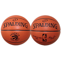 Toronto Raptors Spalding Composite Replica Game Ball - shop.realsports - 1