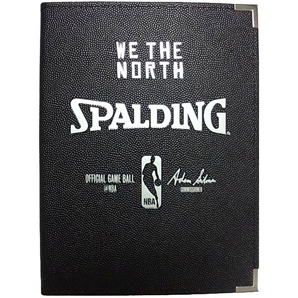 "Toronto Raptors Spalding 8 1/2""x11"" 'We the North' Portfolio - shop.realsports - 1"