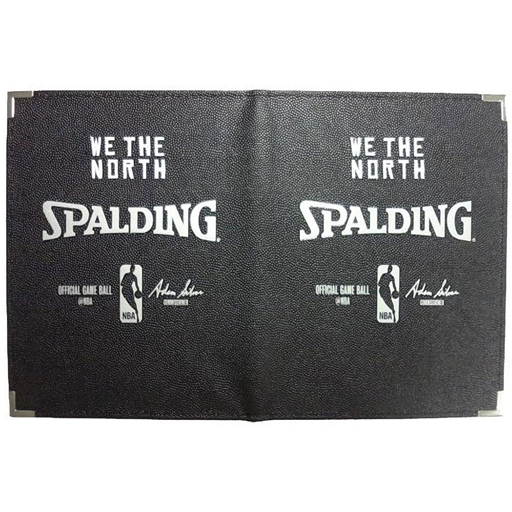 "Toronto Raptors Spalding 8 1/2""x11"" 'We the North' Portfolio - shop.realsports - 2"