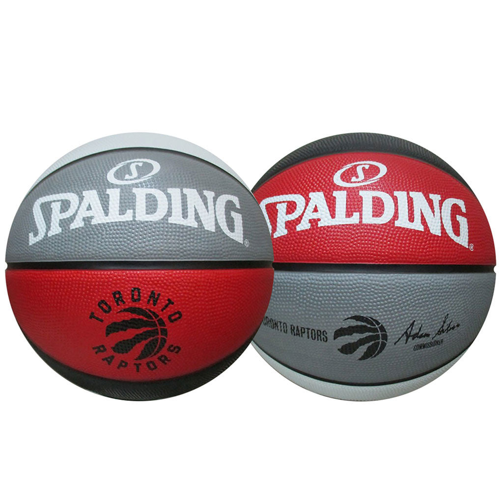 Toronto Raptors Spalding Size 7 Alternate Panels Ball - shop.realsports