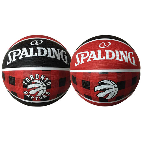 Toronto Raptors Size 7 Plaid Basketball