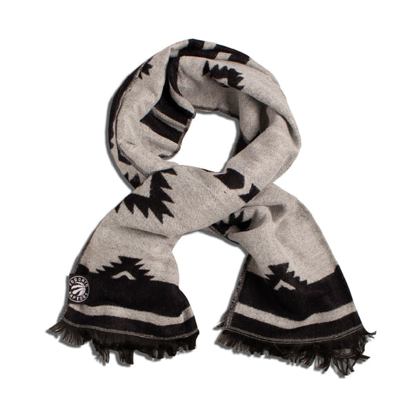 Raptors Ladies Wide Jacquard Scarf