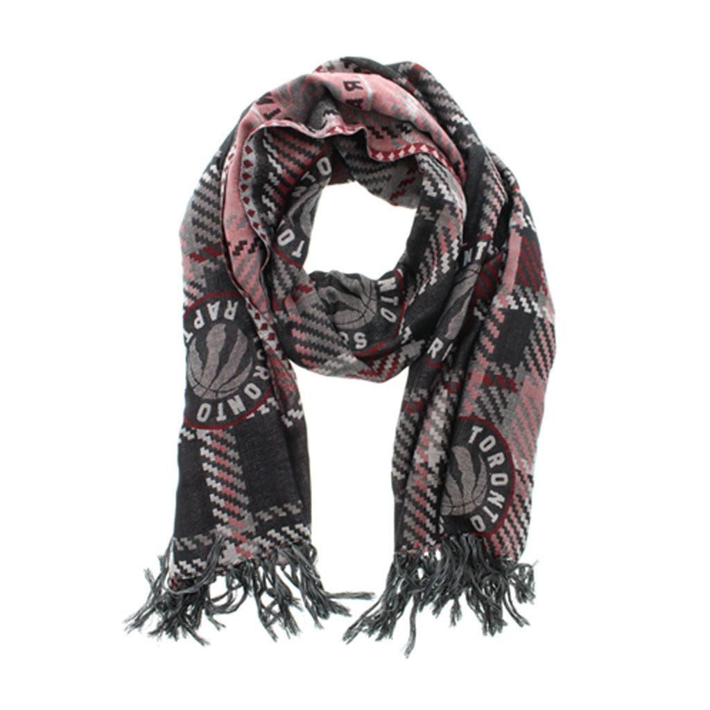 Toronto Raptors Gertex Unisex Plaid Fashion Scarf - shop.realsports