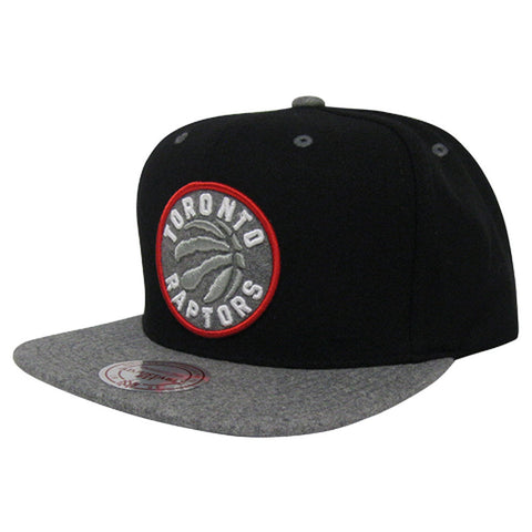 Toronto Raptors Mitchell & Ness Men's Heather Melton Visor Snapback