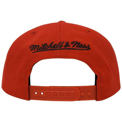 Toronto Raptors Mitchell & Ness Men's Primary Logo Snapback - Red