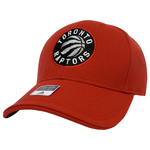 Toronto Raptors Adidas Men's Primary Logo Structured Adjustable Hat