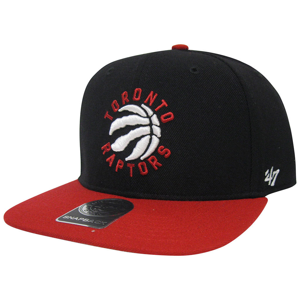 Toronto Raptors 47 Brand Men's SureShot 2-Tone Captain Snapback - shop.realsports